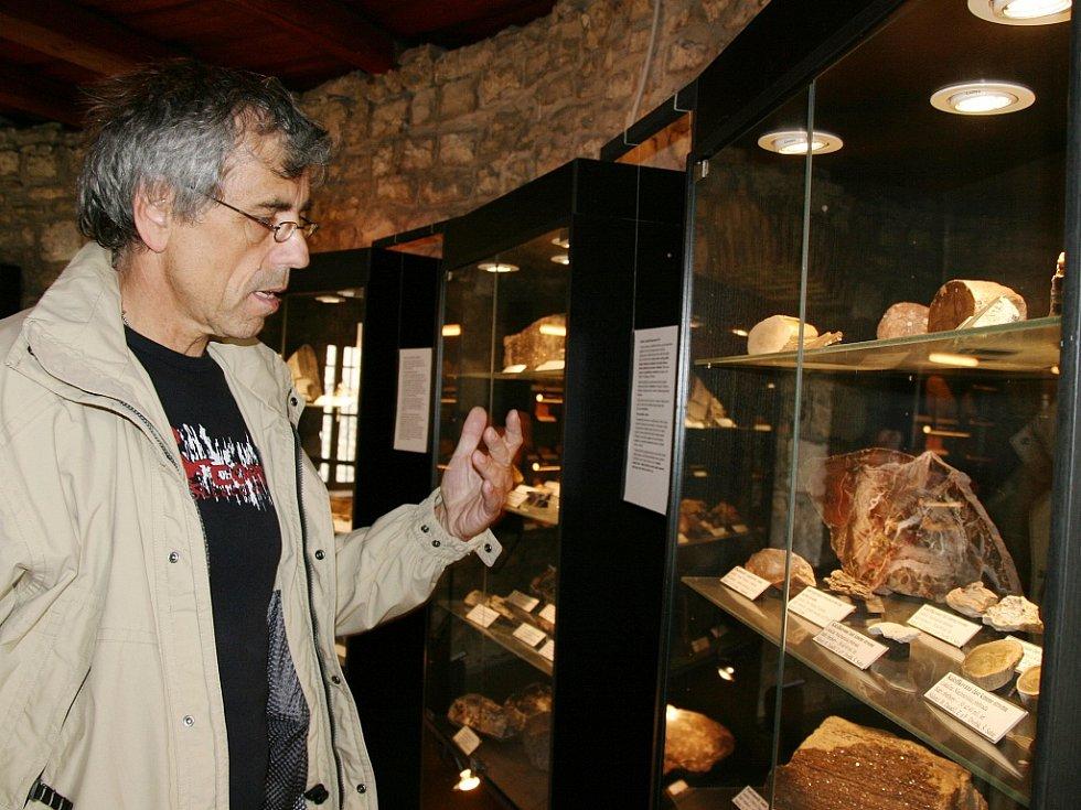 Většinu sbírky muzea nashromáždil Bořek Zasadil