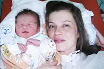 Max Mikula se 20. března v 9.44 hodin narodil v žatecké porodnici mamince Andree Mikulové z Loun. Míra 53 centimetrů, váha 3,8 kg.