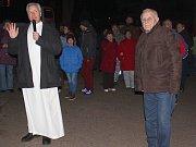 Nultý advent ve Velké Černoci.