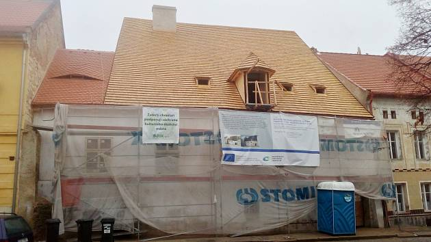Záchrana Mederova domu v Žatci, prosinec 2019