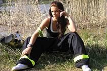 Kandidátka na titul Miss hasička 2011 Ivana Hnilicová z SDH Chraberce