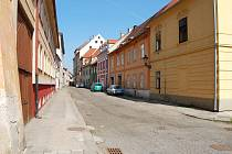 Ulice Josefa Hory v Žatci