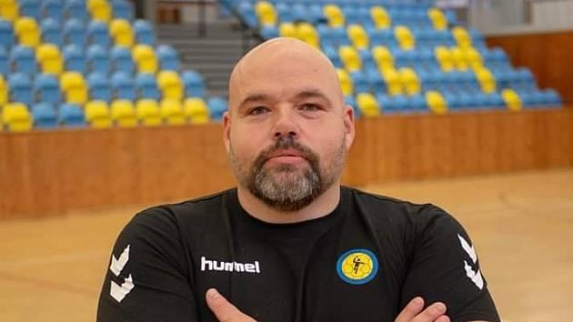 Předseda házenkářského oddílu Lokomotiva Louny Václav Ševčík