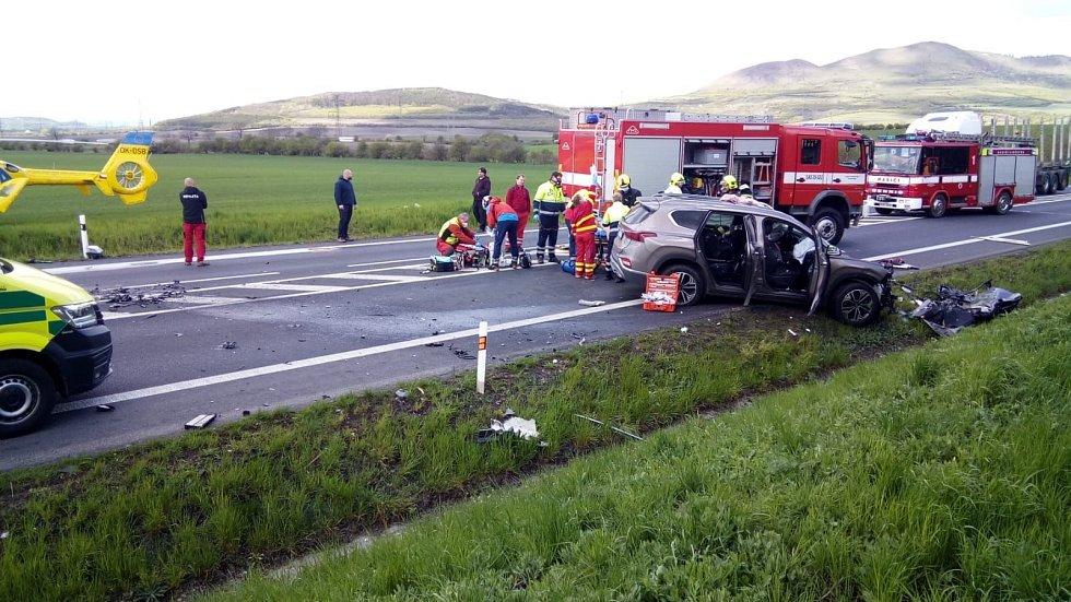 Nehoda u Dobroměřic