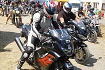 17. ročník motorkářského srazu Rack Reyd v Žerotíně