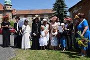 V Košticích na Lounsku si v neděli 9. června připomněli 130. výročí narození Karla Orta