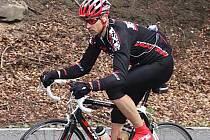 Lounský cyklista Václav Jelínek na archivním snímku