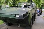 Armáda ČR vystavila například obrněná vozidla