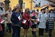 V Cítolibech u Loun si v sobotu připomněli 100. výročí založení Československa.