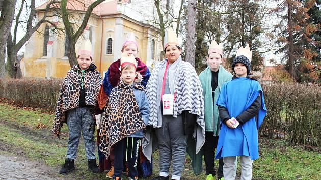 Do obcí a měst regionu vyrazili Tři králové, do jejich kasiček mohou lidé přispět na charitativní projekty.