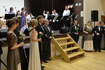 Ples lounské knihovny v Dělnickém domě v Cítolibech
