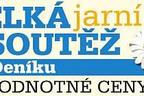 Logo Velké jarní soutěže Deníku