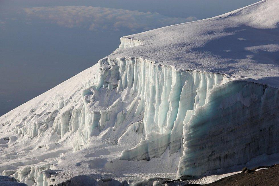 Ledovec na Kilimandžáru