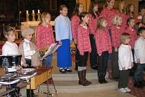 Koncert v lounském chrámu sv. Mikuláše