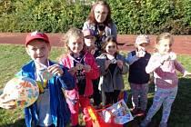 Sportovní hry lounských mateřských škol.