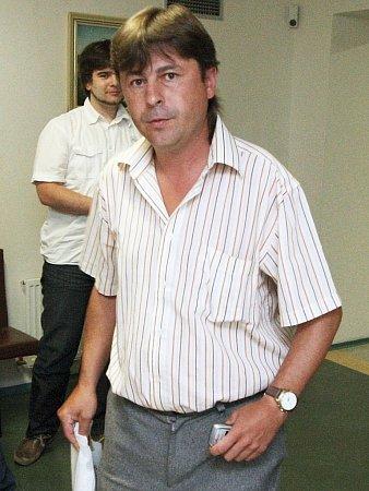 Petr Volánek během soudního procesu vroce 2010