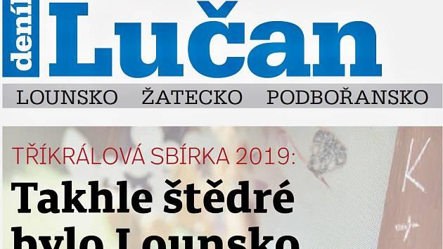 Týdeník Lučan z 29. ledna 2019