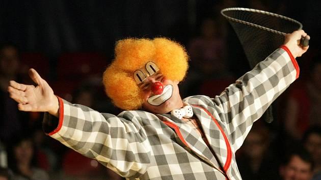 Cirkus Prince. archivní snímek