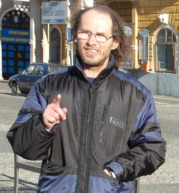 Roman Daniš na archivním snímku