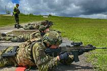 Doupov se proměnil v Litevskou republiku. Strakonickým vojákům simuloval prostředí v zahraniční operaci.
