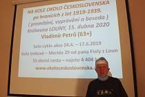 """Ve středu 16. září proběhla v Městské knihovně Louny další zajímavá beseda z cyklu """"Lounští cestovatelé sobě"""". Slova se ujal Vladimír Petrů."""