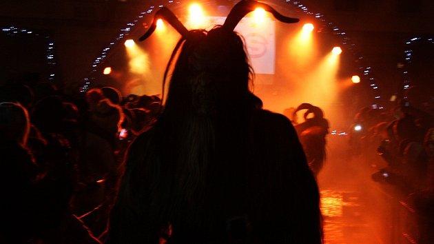 Krampus show v Žatci