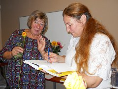 Květa Tošnerová (vpravo) a Věra Mirvaldová
