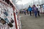 Novoroční pochod ze Žatce na Stroupeč