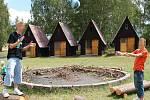 Tábor v Žerotíně na Lounsku. Archivní foto