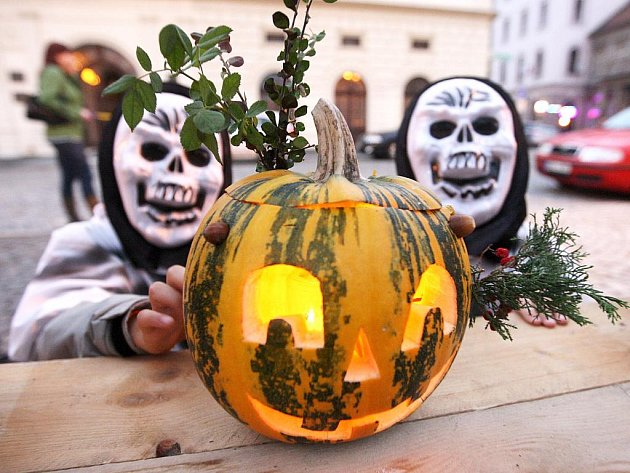 Halloween v Žatci