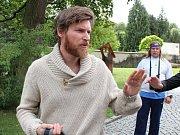 David Švehlík v psychiatrické léčebně v Petrohradě na Podbořansku