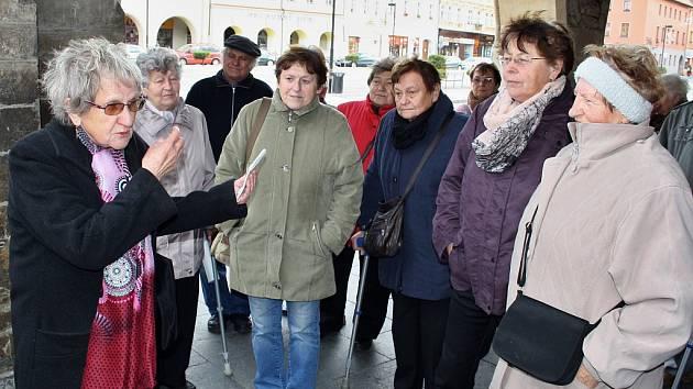 Pochod proti diabetu v Žatci