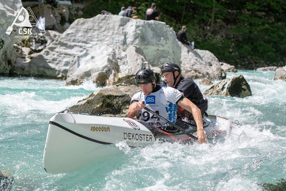 Žatečtí kanoisté Slaninové přivezli z Mistrovství Evropy čtyři medaile