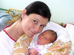 Maminka Lucie Cvrkalová z Loun porodila dcerku Elišku Paškovou. Holčička se narodila v Žatci 30. července. Vážila 3 kg a měřila 51 cm.