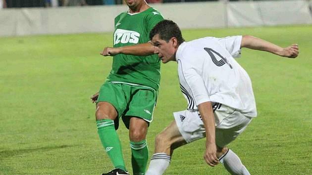 Fotbalisté Blšan hostili na svém stadionu fotbalisty Žatce