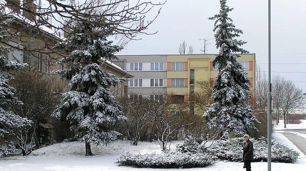 20, března byly v Lounech k vidění krásné zimní scenérie.