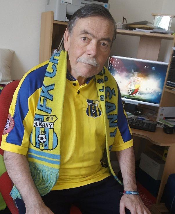 Jaromír Hykl v blšanském dresu