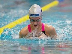 Lenka Bešíková vylovila z lounského bazénu pět zlatých a jednu stříbrnou medaili
