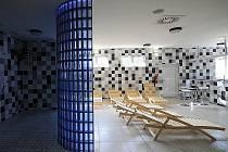 Prostory nové sauny v Žatci.