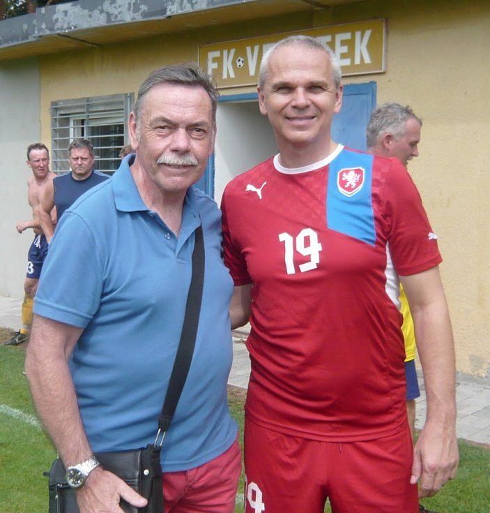 Jaromír Hykl s Vítězslavem Lavičkou