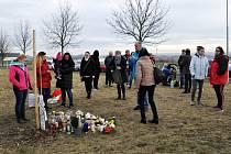 Lidé v Lounech vzpomínali na brutálně utýraného chlapečka. Desítky lidí zapalovaly svíčky a uctily památku u Stromu života pro Marečka, který byl vysazen v ulici Na Horizontu.