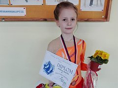Kateřina Plíšková na závodech Kralupská klička