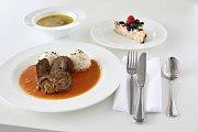 Vítězné menu školní jídelny v Černčicích na Podbořansku