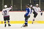 Liga juniorů: Louny (v bílém) - Žebrák