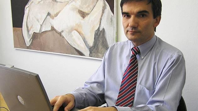Petr Landa, ředitel Nemocnice sv. Alžběty v Lounech.