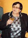 Poslankyně Marie Benešová (ČSSD) při slavnostním otevření nové kanceláře v Lounech