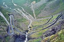 Trollstigen v Norsku