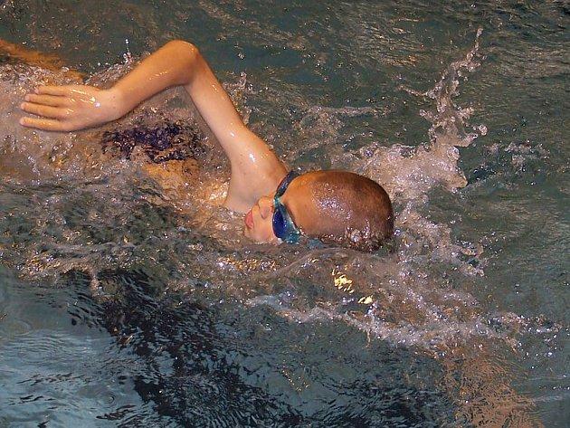 Stříbrnou medaili vybojoval v Domažlicích v Poháru ČR desetiletých plavců Antonín Svěcený z klubu Jazzmani Žatec.