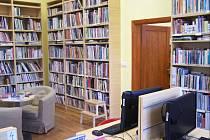 Dětské oddělení lounské knihovny.