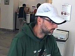 Policie hledá bankovního lupiče